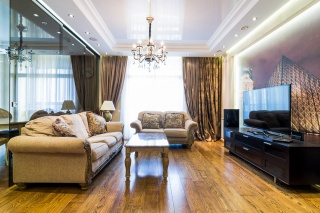 luxury apartment for rent in a new house in Vasileostrovsky district St-Petersburg
