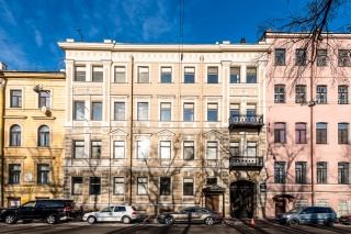 реконструированный исторический дом Конногвардейский бульвар д. 13 Санкт-Петербург