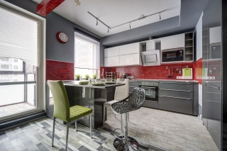 author's design 3-room apartment to let in the Petrogradsky district of St-Petersburg