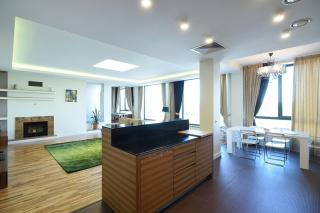 4-room apartment for lease elite building St-Petersburg