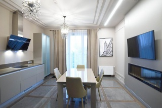 modern apartment to let in the Petrogradsky district St-Petersburg